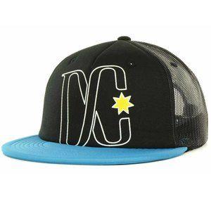 DC Shoes Logo Foam Mesh Trucker Snapback Cap Hat